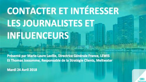 Replay vidéo : contacter et intéresser les journalistes et influenceurs