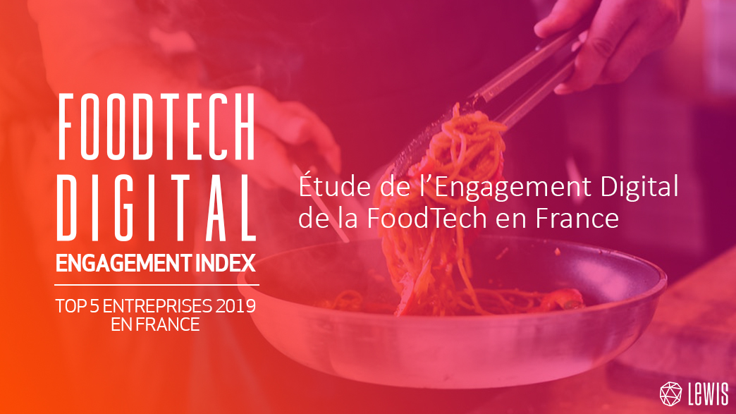 Etude France FoodTech Digital Engagement