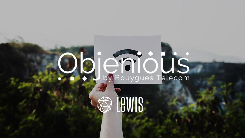 LEWIS : NOUVELLE AGENCE RP/DIGITAL D'OBJENIOUS