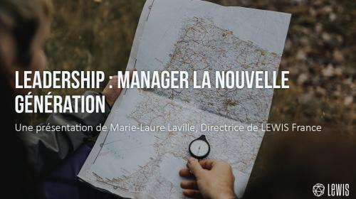 Leadership : manager la nouvelle génération