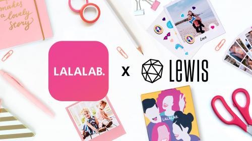 LALALAB., ça imprime du love avec LEWIS