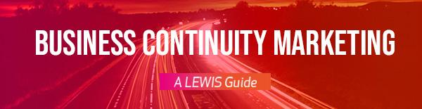 Guida al Business Continuity Marketing