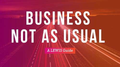 Business not as usual: een stappenplan in onzekere tijden