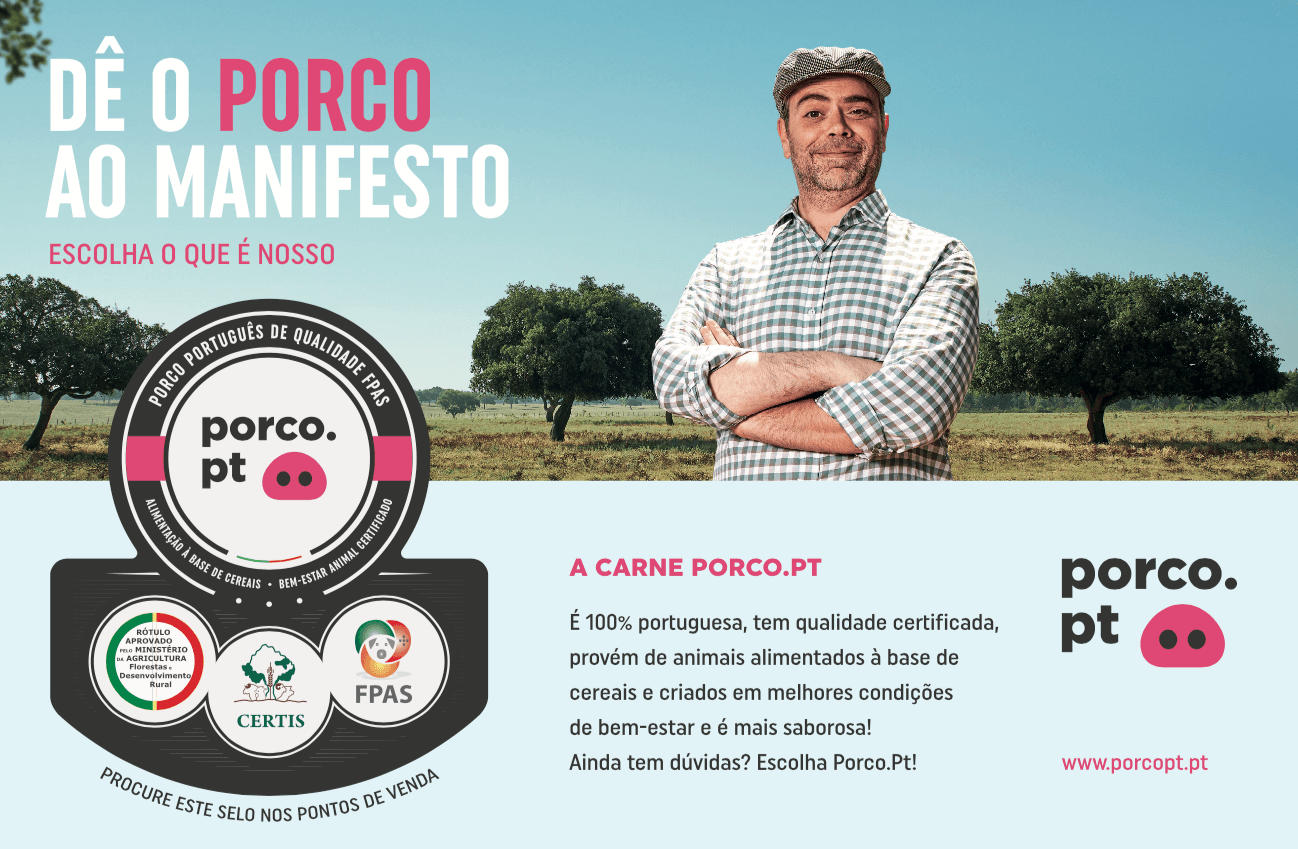 Publicidade Porco PT