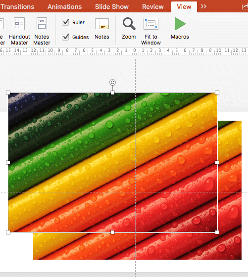 Ruler e Guides Powerpoint