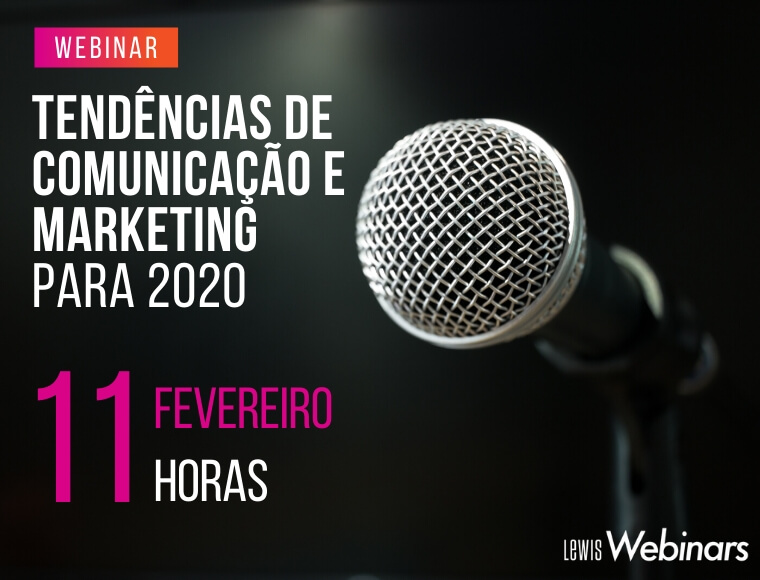 Tendencias de Comunicacao e Marketing para 2020
