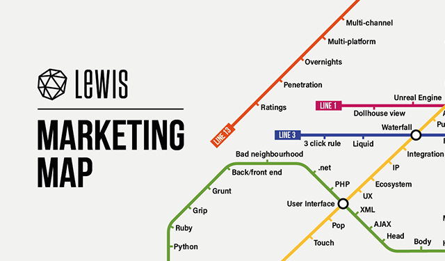 Keeping Your Marketing On Track - LEWIS - Integrated Agency - London