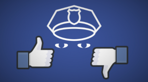 facebook like dislike police