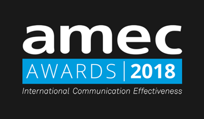 LEWIS Shortlisted for 2018 AMEC Award