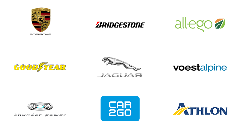 LEWIS automotive client logos
