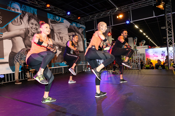 STRONG by Zumba, workout event, LEWIS