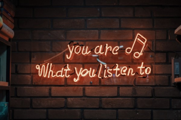you are what you listen to, B2B podcast featured image