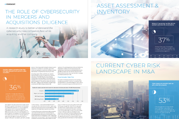 Inside pages of Forescout research paper