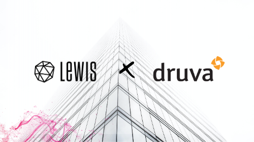 Druva Taps LEWIS to Drive U.S. Communications