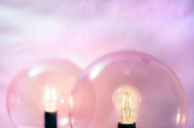 pink light bulbs