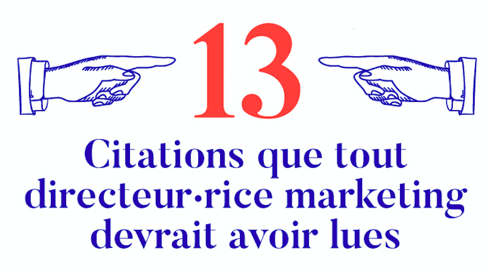 13 citations marketing