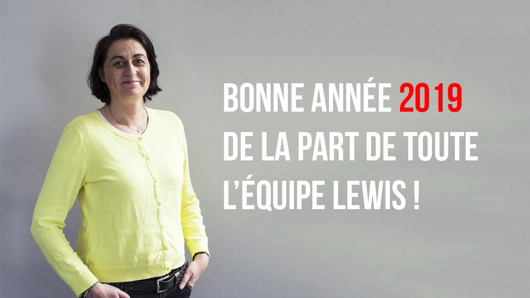 Bonne annee 2019 LEWIS