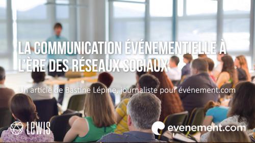 La communication événementielle à l'ère des réseaux sociaux