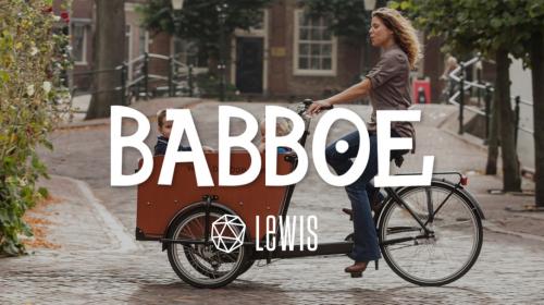 LEWIS gagne Babboe : marque néerlandaise de vélos cargo