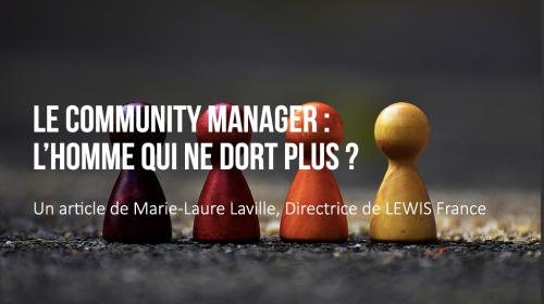 Le Community Manager : l'homme qui ne dort plus ?