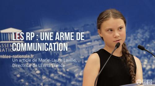 Les RP : une arme de communication