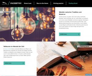 Jaguar Pacesetter Content Hub