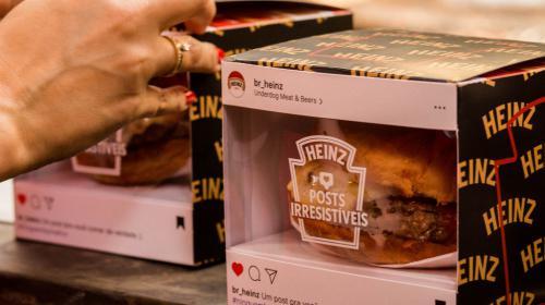 Hamburguesas personalizadas: la campaña digital de Heinz en Instagram