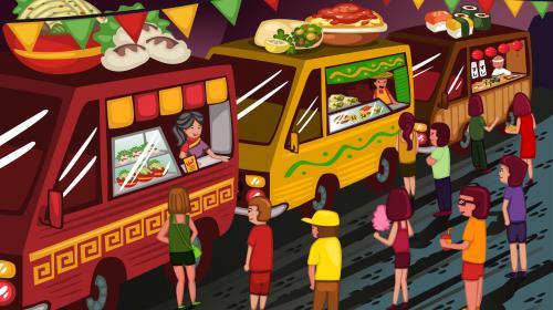 Food Trucks: comida y comunicación en movimiento