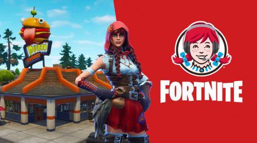 La genial campaña creativa de Wendy's en Fortnite