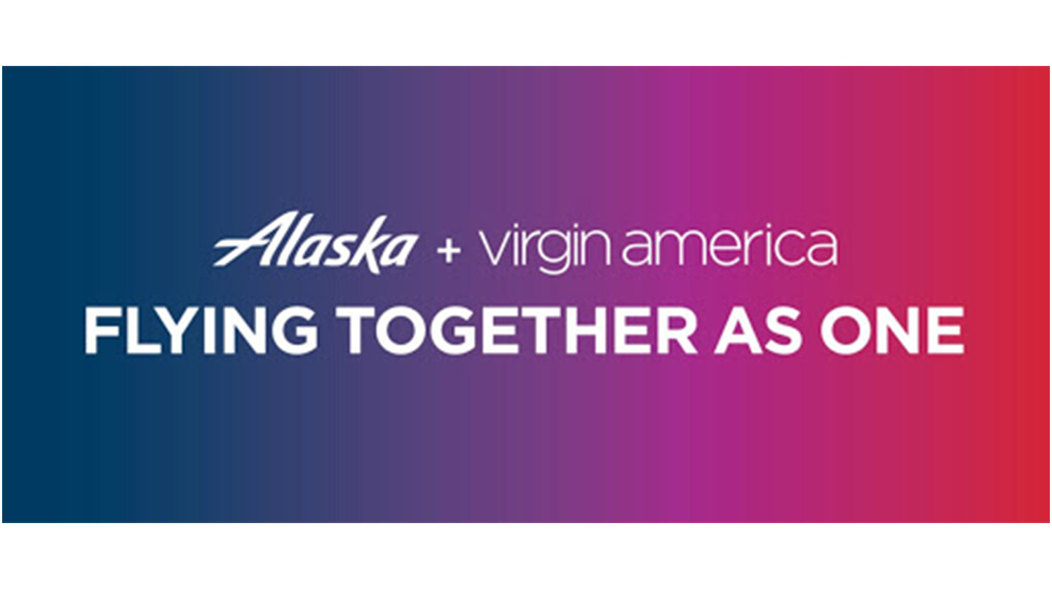 Alaska Airline e Virgin