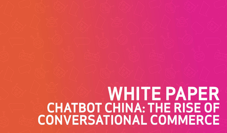 Chatbot China - Conversational Commerce - Cover