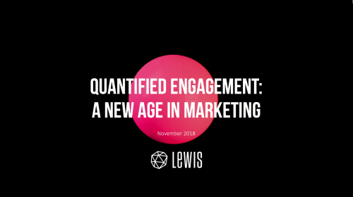 Quantified engagement: a new age in marketing