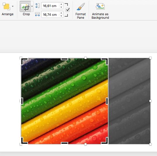 Crop Imagem Powerpoint